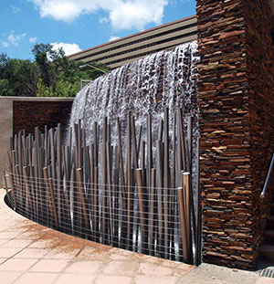 Unisa Kgorong Centre Water Feature